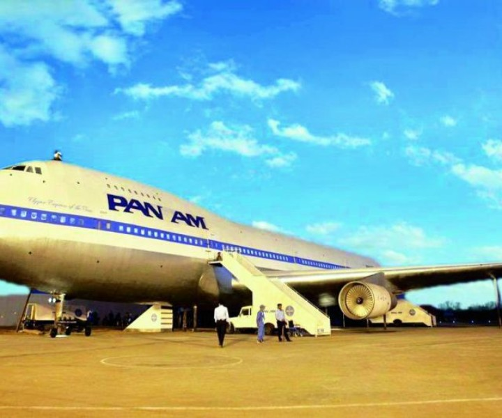 The Boeing 747 PAN AM flight replicated for Neerja